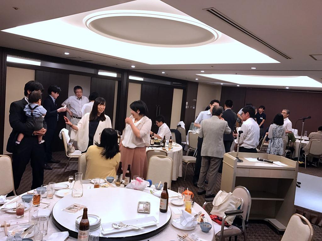 塩見先生日本栄養・食糧学会功労賞受賞祝賀会報告